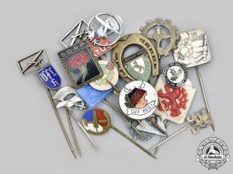 Slovakia, I Republic; Germany; Federal Republic. A Lot of Commemoratives Badges and Pins