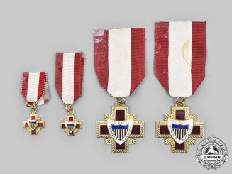 United States. Four Association of Military Surgeons of the United States (AMSUS) Medals