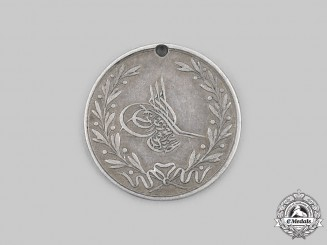 Turkey, Ottoman Empire. A Medal for Acre, V Class Silver Grade for Junior Officers