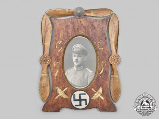 Finland, Republic. A 1931 Finnish Air Force Picture Frame