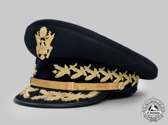 United States. An Army Service Cap for General Officers