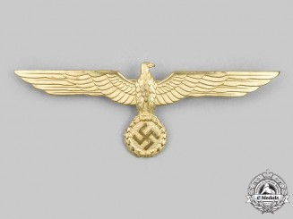 Germany, Kriegsmarine. A Mint Officer's Summer Tunic Breast Eagle