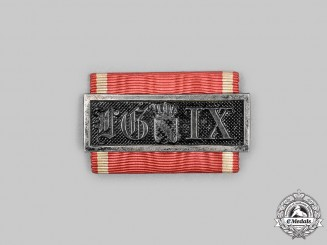 Baden, Grand Duchy. A Long Service Decoration, III Class for 9 Years