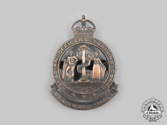 Canada, Commonwealth. A Rare Osgoode Hall Canadian Officers Training Corps Cap Badge