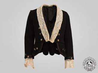 "Canada, Dominion. A 48th Highlanders Officer's Formal Black Tie ""Prince Charlie"" Jacket, c.1900"