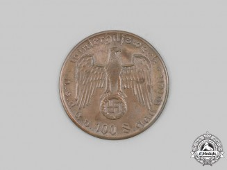 Germany, Third Reich. A Winterhilfswerk Vienna Donor's Medal