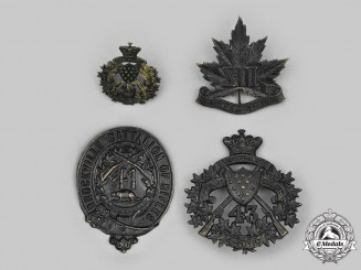 Canada, Dominion. A Lot Four Pre First War Badges