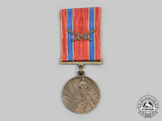 Latvia, Republic. A Medal for the Tenth Anniversary of the Battles for the Liberation of the Republic of Latvia 1918-1928