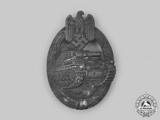 Germany, Wehrmacht. A Panzer Assault Badge, Bronze Grade by Frank & Reif
