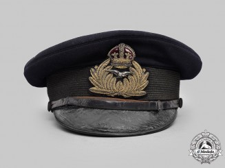 United Kingdom. A Rare Royal Naval Air Service (RNAS) Officer's Visor Cap, c.1915