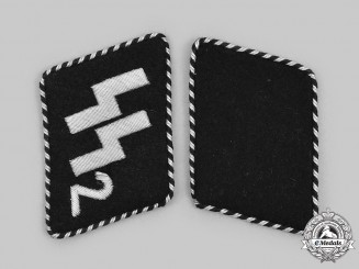 "Germany, SS. A Set of SS-Standarte ""Germania"" Mann Collar Tabs"