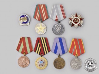 Russia, Soviet Union, Federation. Lot of Eight Awards