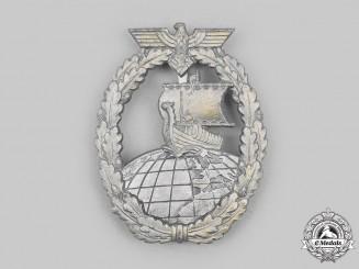 Germany, Kriegsmarine. An Auxiliary Cruiser War Badge