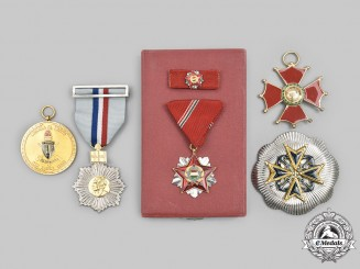 Venezuela, Bolivarian Republic; Chile, Republic; Hungary, People's Republic. Five Awards