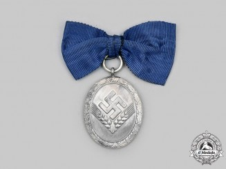 Germany, RAD. A Reich Labour Service Long Service Medal, II Class, for Women