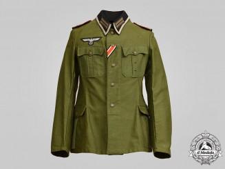 Germany, Heer. A Smoke/Chemical Troops Oberfeldwebel Field Tunic, Dutch Manufacture