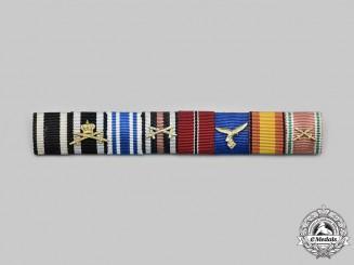 Germany, Wehrmacht. A First & Second War Ribbon Bar, Condor Legion Service