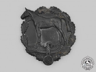 Germany, SA. A National Socialist Equestrian Youth Honour Plaque