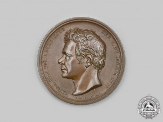 Prussia, Kingdom. An 1841/1842 Winter Semester Medal, by Carl Pfeuffer