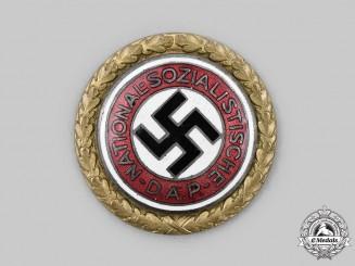 Germany, NSDAP. A Golden Party Badge, by Deschler & Sohn