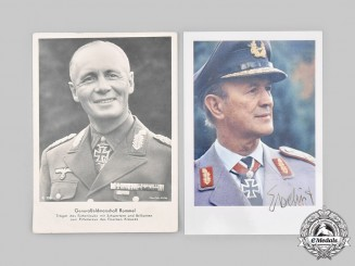 Germany, Wehrmacht. A Pair of Knight's Cross Recipient Photos