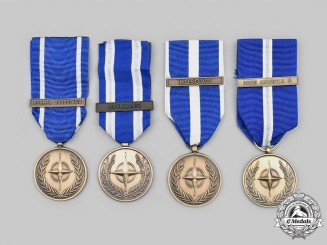 International. Lot of Four NATO Medals