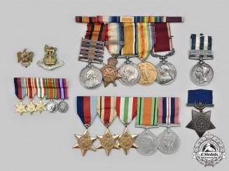 United Kingdom. An Anglo-Egyptian War, Boer War, First War & Second War Family Group