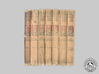 South Africa. South Africa and the Transvaal War (Seven Volumes)