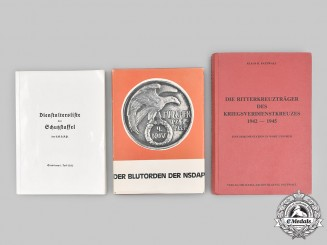 Germany. A Lot of Three Reference Books