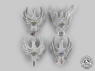 Romania, People's Republic. Four III Class Air Force (RoAF) Badges