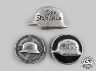 Germany, Der Stahlhelm. A Lot of Membership Badges