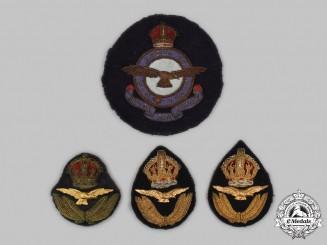 United Kingdom. Four Royal Air Force (RAF) Insignia