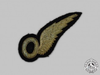 United Kingdom. An Early Royal Air Force Observer (O) Wing