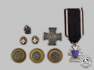 Poland and Ukraine. A Mixed Lot of Decorations and Insignia