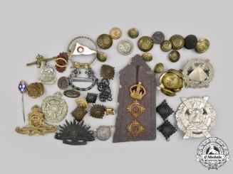 Canada, United Kingdom, Australia. A Lot of Sixty-Eight Military-Themed Items