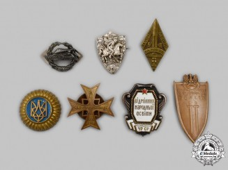 Poland and Ukraine. A Mixed Lot of Badges