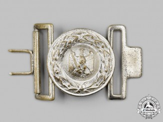Germany, Third Reich. A Justice Official's Belt Buckle