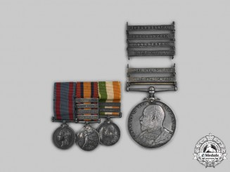 Canada, Dominion. A South Africa Medal Group to Major Dixon of the 'Old Eighteen', First Graduating Class of Canada's Royal Military College