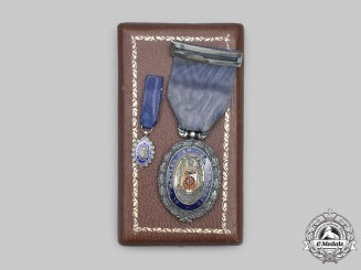 Spain, Facist State. A Medal for Merit in Labour, Silver Grade, c.1942