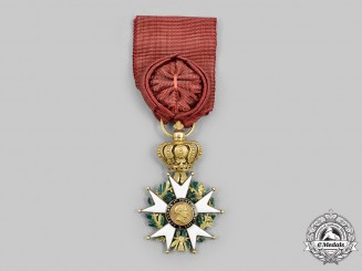 """France, II Empire. An Order of the Legion of Honour, Officer """"La Presidence"""" with 2nd Empire Centres, c.1851"""