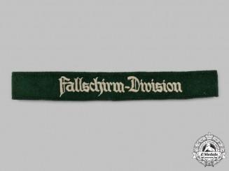 Germany, Luftwaffe. A Fallschirm-Division Cuff Title