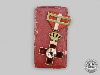 Spain, Kingdom. An Order of Military Merit with Red Distinction, by the Progressive Government Against the Bourbon Dynasty 1868