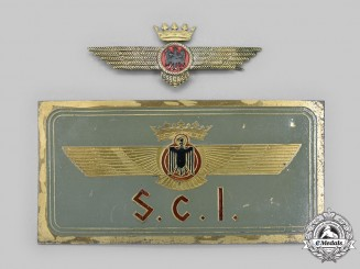 Spain. Two Nationalist Forces Spanish Air Force (SAF) Items