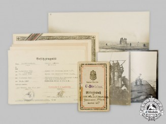 Germany. A Lot of Documents and Photos to Hermann Schicke, First and Second World War U-Boat Service