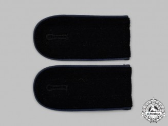 Germany, SS. A Set of Waffen-SS Medical Enlisted Personnel Shoulder Straps