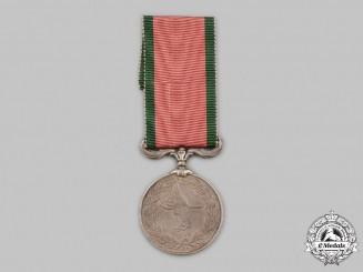 United Kingdom; Turkey, Ottoman Empire. Turkish Crimean War Medal 1854-1856, British Issue, to Wright Hirst, Royal Regiment