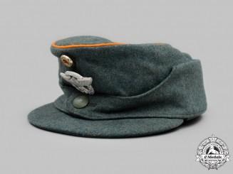 Germany, Ordnungspolizei. A Gendarmerie EM/NCO's M43 Field cap