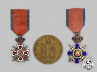 Romania, Kingdom. Three Decorations & Awards