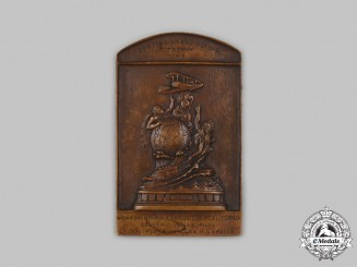 United States. A Curtiss Marine Flying Trophy Commemorative Medal 1915