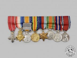 United Kingdom. The OBE Miniature Group of Lieutenant-Commander George William Bird, Royal Navy